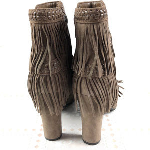 8e4a53883678 Sam Edelman Shoes - SAM EDELMAN Boots Kaleb 10.5 Brown Fringe festival